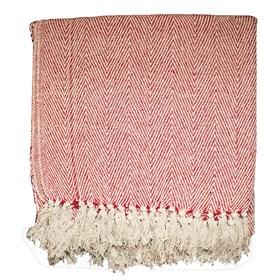 Manta para Sofá Catrina 160x130cm - Vermelho