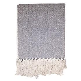 Manta para Sofá Millie 160x130cm - Cinza Escuro