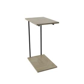 Mesa de Apoio Iron - Artesanal com Preto Fosco