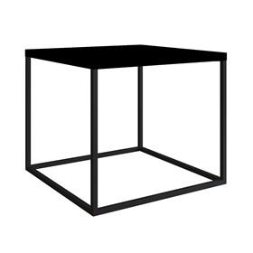 Mesa de Centro Eliza em Aço Carbono - Preto 43cm