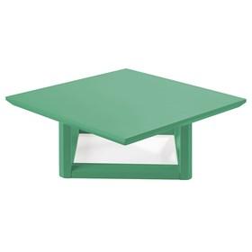 Mesa de Centro Palau Madeira Maciça - Verde Anis