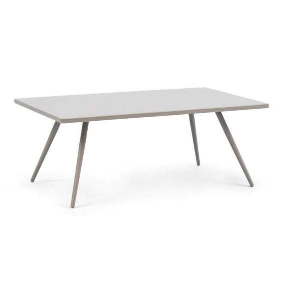 Mesa de Centro Skinny em Alumínio para Jardim