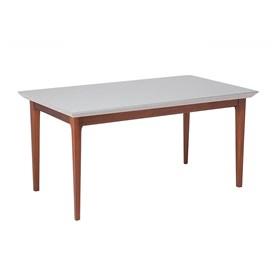 Mesa de Jantar Danbloy C/ Tampo de Vidro