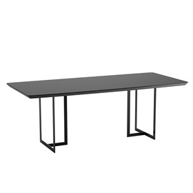Mesa de Jantar Iron - Preto Fosco
