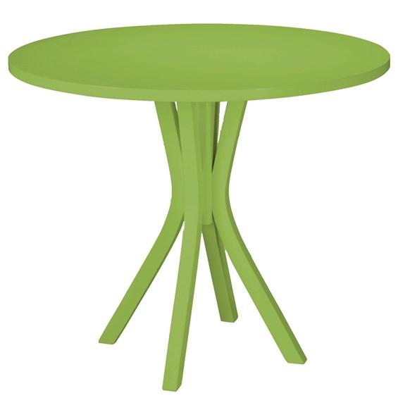 Mesa de Jantar Klaus em Madeira Maciça - Verde