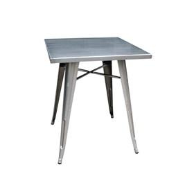 Mesa de Metal Quadrada Iron
