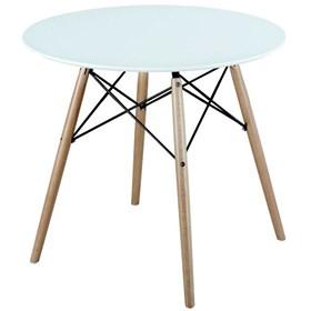 Mesa Design Eames Redonda 80cm Preta