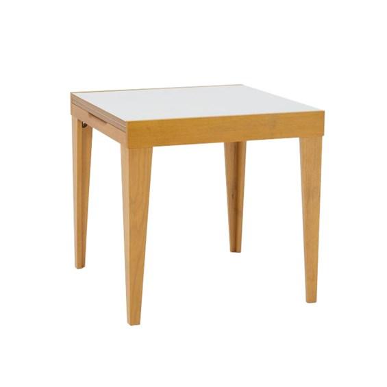 Mesa Elástica Tinner C/ Tampo de Vidro