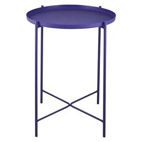 Mesa Lateral Ammy em Aço Carbono - Violeta