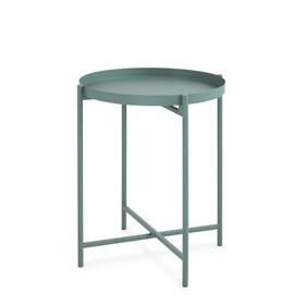 Mesa Lateral Kader em Metal 43cm - Verde
