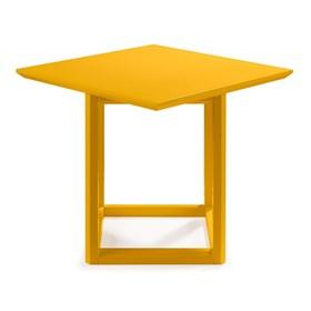 Mesa Lateral Palau Alta em Madeira Maciça - Amarelo