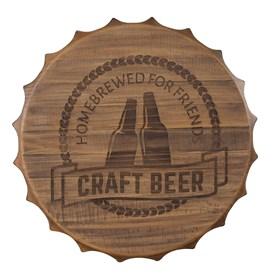 Painel Beer em Madeira Maciça