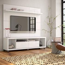 Painel Suspenso Horizon Branco 1.8cm Para Tv Até 60'