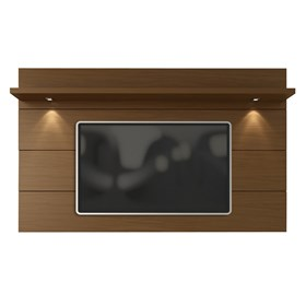 Painel Suspenso Horizon Marrom Escuro 2.17cm Para Tv Até 60'