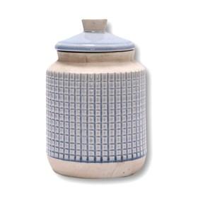 Pote Ridek em Cerâmica 24cm - Azul