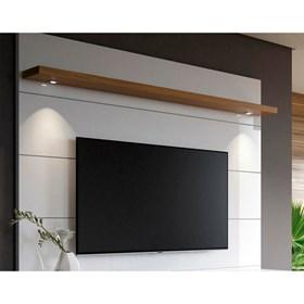 """Rack e Painel Horizon Branco/Natural 1.8 Para Tv Até 60"""""""