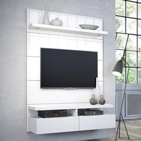 Rack e Painel Suspenso Horizon 1.2m Para Tv's Até 42'' Branco
