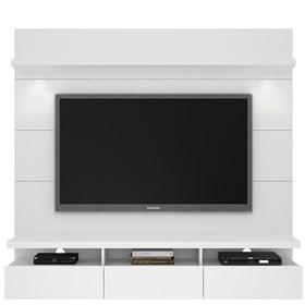 Rack e Painel Suspenso Horizon 1.8m Para Tv's Até 60' Branco