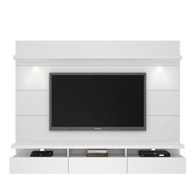 Rack e Painel Suspenso Horizon Branco 2.1m Para Tv's Até 60'