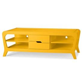 Rack Galbe C/2 Gavetas - Amarelo