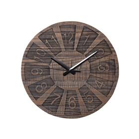 Relógio Números Cardinais de Madeira Maciça