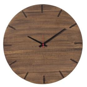 Relógio Pit em Madeira Maciça