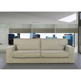 Sofá de 3 Lugares Londres em Madeira Maciça