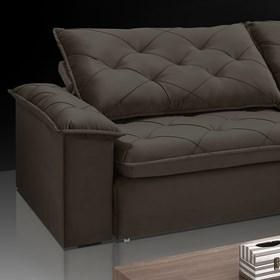 Sofá Retrátil e Reclinável Aldebaran 210cm Onix
