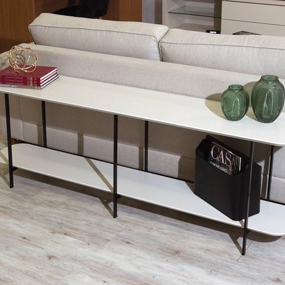 Sofá Table Iron Off White Fosco Com, Cool Sofa Tables