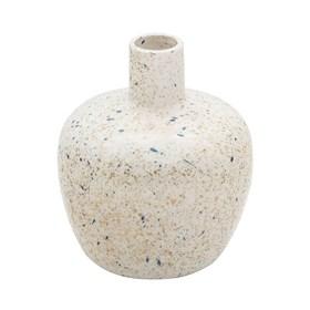 Vaso Bramog em Cerâmica 16,5cm - Branco